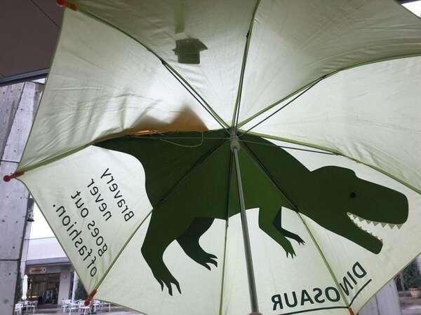 スリーコインズのキッズダイカット傘の写真