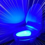 【ヤバイ】激安通販サイトSHEIN(シーイン)で「便器が光る装置(472円)」を買った結果 → トイレがセーブポイントみたいになった
