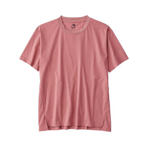 レディースドライサイドポケットTシャツ