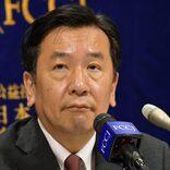 立民・枝野幸男代表、総選挙に向け鼻息荒く 「時代が私に追いついてきた」