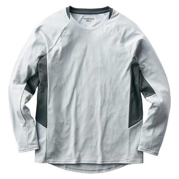 肌がさらさらゼロドライ-5℃長袖Tシャツ