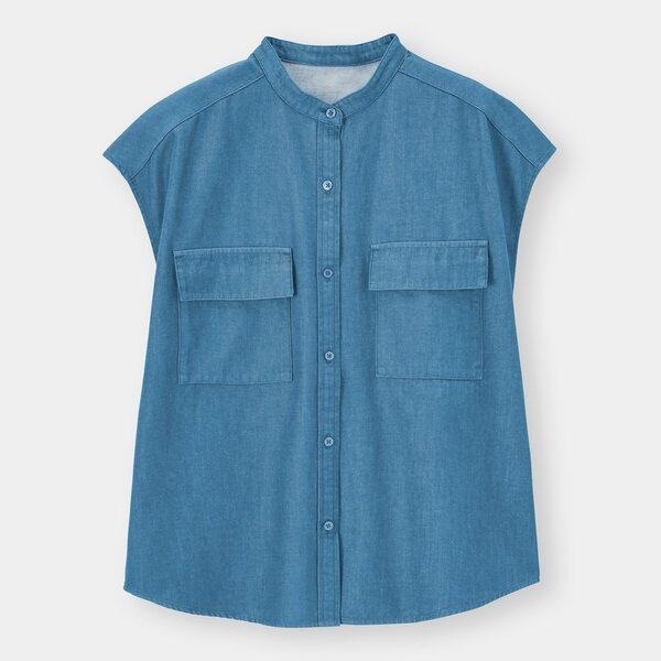 コットンダブルポケットシャツ