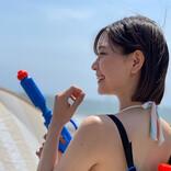 「夏、はじまったよ」2.5次元モデルあまつまりなが『ヤンガン』ビキニオフショット公開