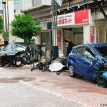 JR藤沢駅近くで正面衝突事故が発生し消防10人出動 目撃者から話を聞いた