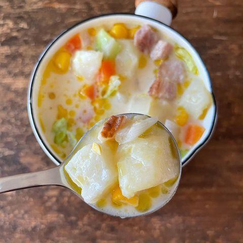 ミルクチーズスープ