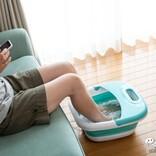夏は冷たい足湯で省エネ! エアコンを使わない暑さ対策アイテム『折りたたみ式フットバス』