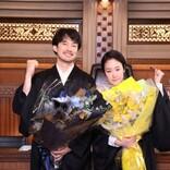 竹野内豊&黒木華、『イチケイのカラス』クランクアップに笑顔「ほっとしています」