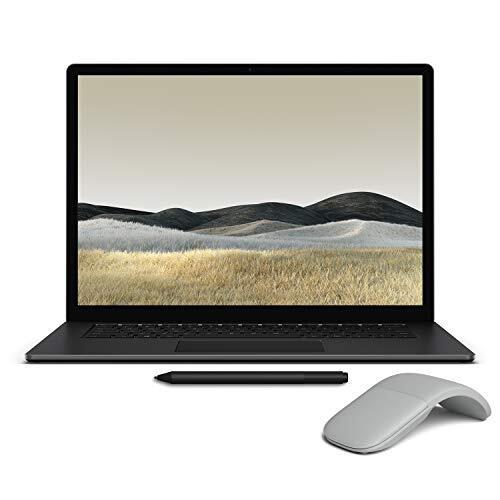 【Microsoft ストア限定】3点セット: Surface Laptop 3 15インチ(AMD Ryzen 5 / 8GB / 256GB / ブラック (メタル)) + Surface Arc Mouse + Surface ペン