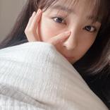 大友花恋、寝起きのすっぴん自撮りショットに歓喜の声