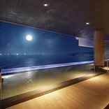 津軽海峡を一望するインフィニティ風呂!函館湯の川温泉「海と灯/ヒューイットリゾート」