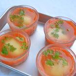 【今日のおかずレシピ】  ロゼワインにもぴったりのサーモンと卵のジュレ