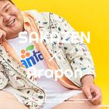 """「SAKAZEN×あらぽん!」大きいサイズのサカゼン、ファッションモデル企画にANZEN漫才から""""あらぽん""""が登場!"""