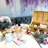 紫推し大歓喜の「紫アフタヌーンティー」が美味しくて映えに全力すぎた / 東京・中目黒『HAUTE COUTURE CAFE』