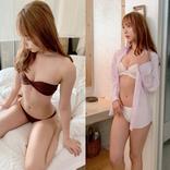 アイドルグループ「転校少女*」の塩川莉世、水着姿のグラビアオフショットを大量披露!