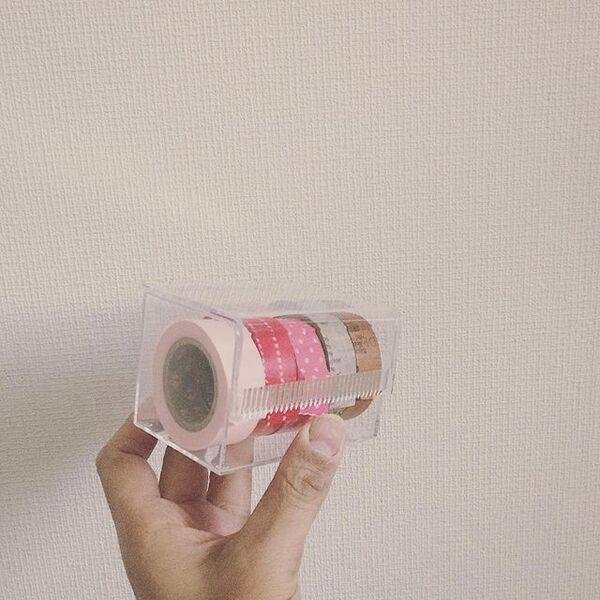 シンプルなマスキングテープホルダー