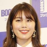 稲村亜美 白ワンピ姿披露に「健康美人」「夏、ですねぇ!」「笑顔素敵です」