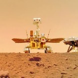 中国の火星ローバー「祝融号」から届いたユニークなセルフィー
