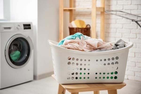 ラインドリー・洗濯物の写真