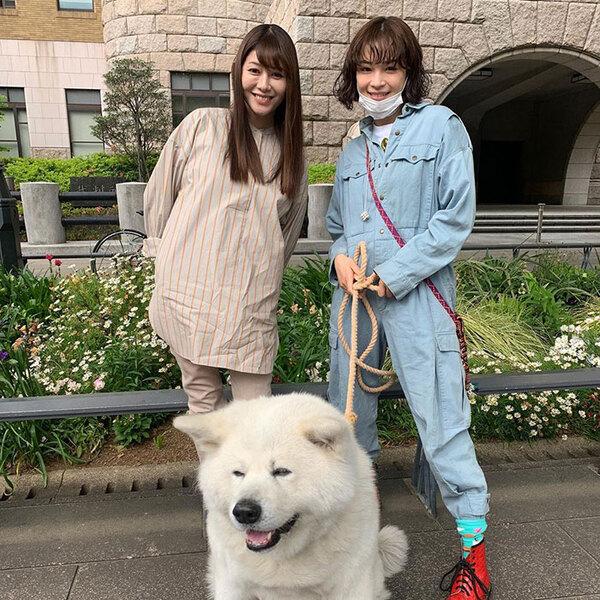 最終回の終盤で凪沙とアンナが街なかで出会ったシーンは、映画化への布石だろうか。ドラマ「ネメシス」公式インスタグラム(@nemesis_ntv_)より。