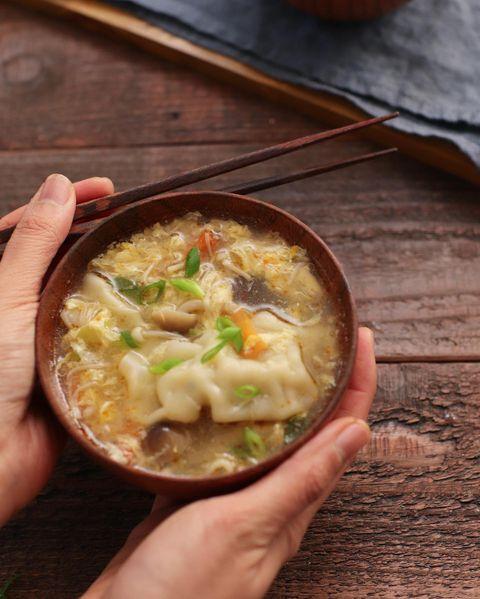 中華かき玉スープ