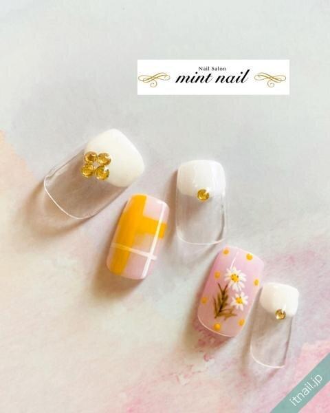 mint nailが投稿したネイルデザイン [photoid:I0089381] via Itnail Design (646690)
