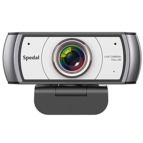 Spedal 920 Pro 120度 広角 webカメラ ウェブカメラ HD 1080P 200万画素 自動光補正 ビデオ 会議用 距離学習 リモートティーチング カメラ ライブストリーミング 内蔵 マイク Mac Windows PC ノートパソコン デスクトップ用