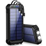 【Amazonタイムセール中!】54%OFFの30000mAhソーラーモバイルバッテリーや1,181円の大容量ガジェットポーチなど