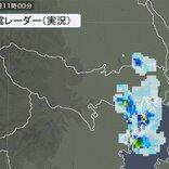 東京都内に雨雲 午後も大気の状態が不安定 急な激しい雨・落雷・突風に注意