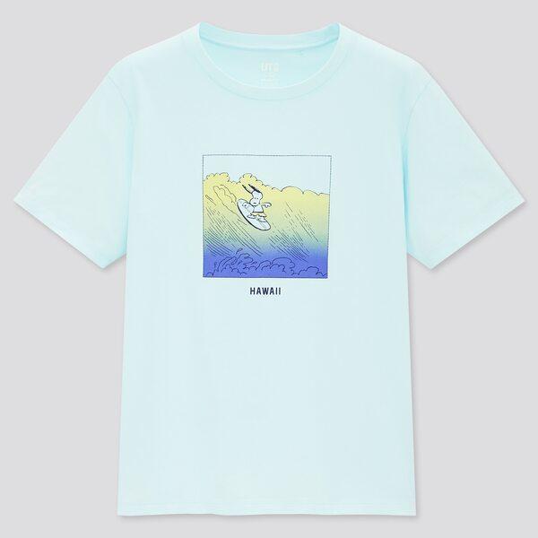 ピーナッツハワイUTグラフィックTシャツ