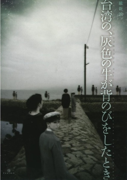 『台湾の、灰色の牛が背のびをしたとき~《彼》と旅をする20世紀三部作 #3』DVDパッケージ。