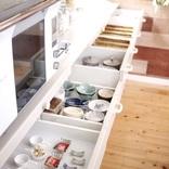 システムキッチンをもっと便利に。収納一つで使い勝手をよくするおすすめ実例集