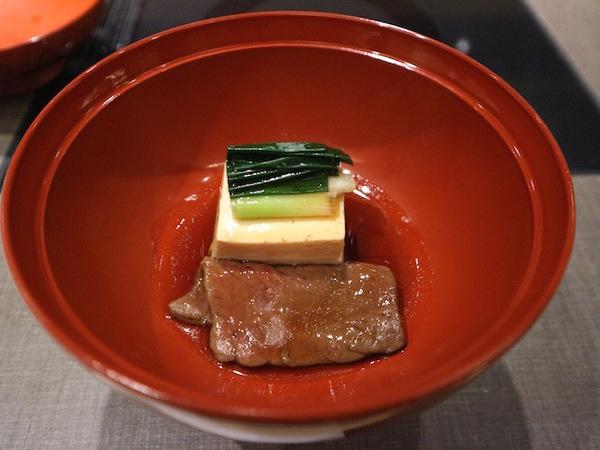 近江牛の治部煮