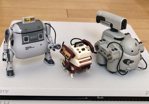 メカトロウィーゴ・なっちん・TAMOTUでスーパーファミコン・ファミコン・プレイステーションを表現した投稿者。