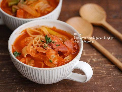 定番料理!濃厚で美味しいトマトスープ