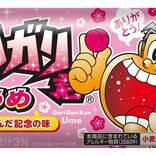 """【アイス】『ガリガリ君』40周年記念の新味「うめ」誕生! 圧倒的コスパ""""70円""""ですっぱうまい♪"""