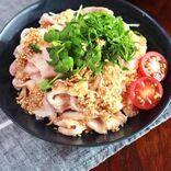 しっとり柔らか!豚しゃぶの香味サラダのレシピ