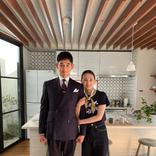 北川景子×永山瑛太『リコカツ』クランクアップショットを公開 笑顔の腕組みで「最終回 ご視聴ありがとうございました」