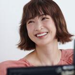 """紗栄子、""""ひとり5変化""""に挑戦 セクシーな演技直後に思わず照れ笑いも"""