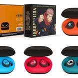 虎杖・伏黒・釘崎・五条のオリジナルボイスを搭載 『呪術廻戦』ワイヤレスイヤホンが発売決定