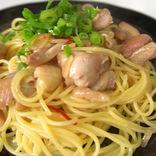日本酒で鶏肉の旨み倍増 料理研究家リュウジさんのパスタ「日本酒鶏そば」