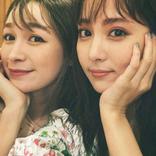 石川恋、藤井サチとの密着ショットに「姉妹感たまらん」