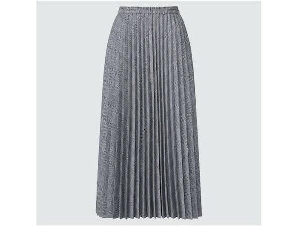 ユニクロ アコーディオンプリーツスカート 2990円(税込)