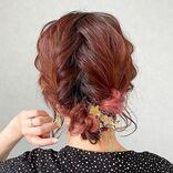 結婚式におすすめの簡単ヘアアレンジ《ロング》お呼ばれヘアを自分で作るコツ