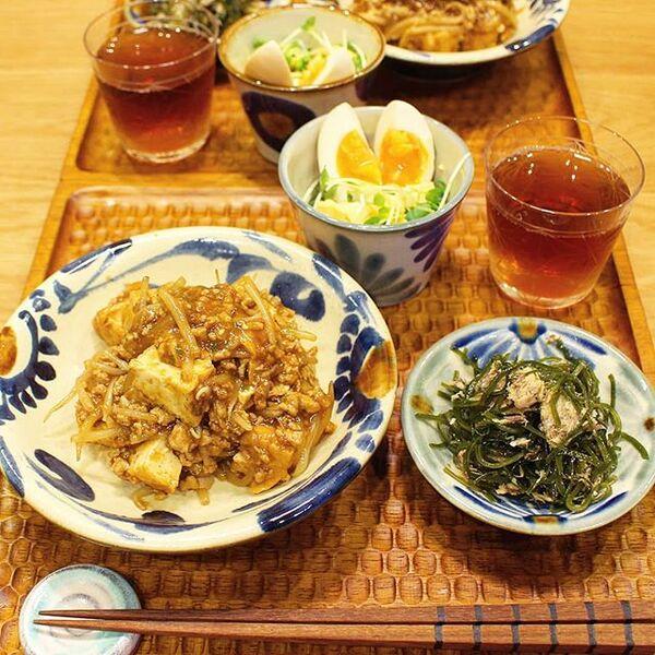 人気の麻婆豆腐