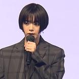 池田エライザ、クールなスーツ姿で登場!ショートショート フィルムフェスティバル