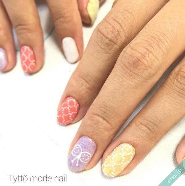 Tyttö mode nailが投稿したネイルデザイン [photoid:I0025554] via Itnail Design (645641)
