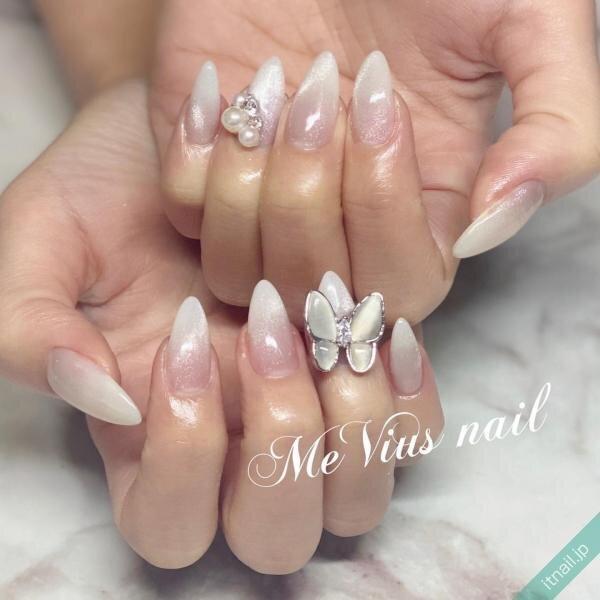 MeVius nailが投稿したネイルデザイン [photoid:I0093185] via Itnail Design (645893)