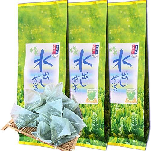 静岡抹茶入り 水出し煎茶ティーバッグ 1リットル用 (3袋)