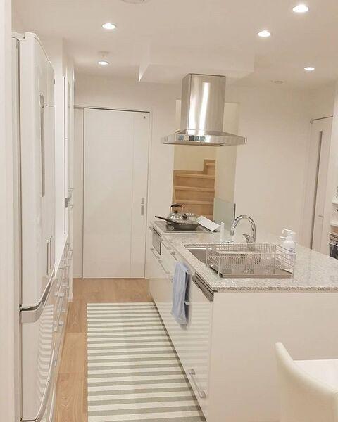 キッチンマットは常に清潔に