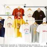 『魔女の宅急便』ニシンのパイがTシャツに!スタジオジブリのアメカジブランド「GBL」Tシャツ第2弾発売